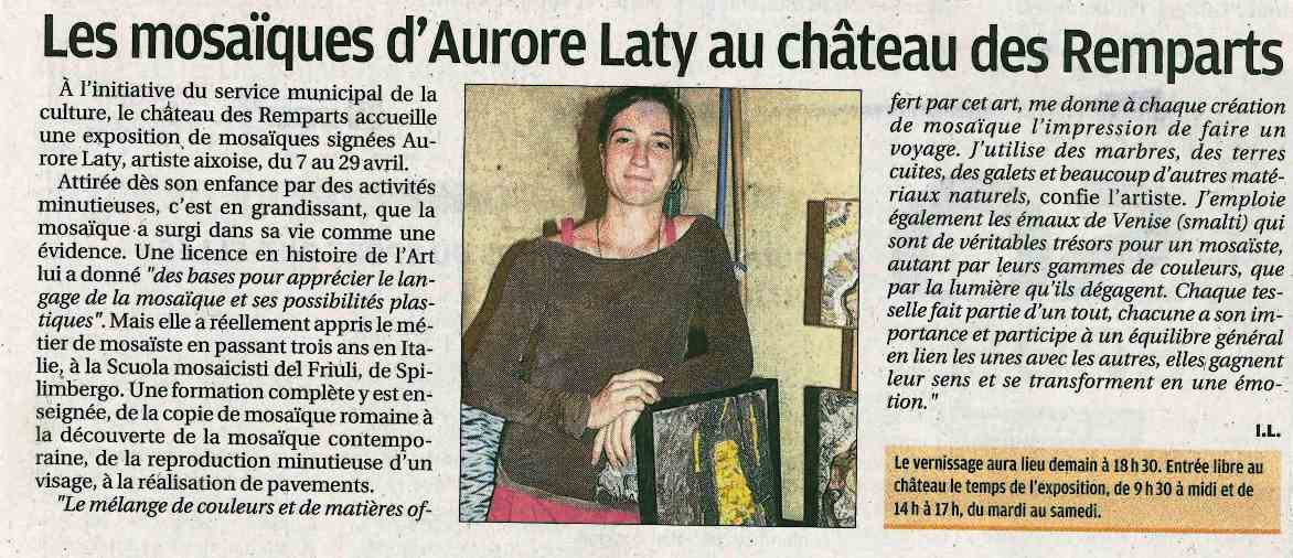 Article La Provence du 6 avril 2017