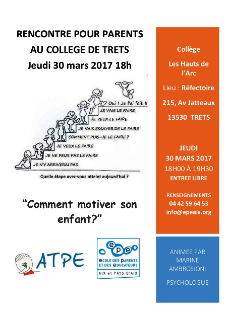 rencontre parents du 30 mars 2017