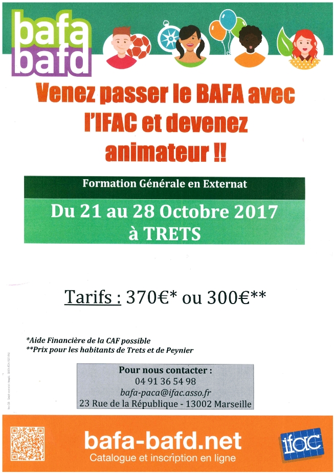 Association IFAC - Stage BAFA