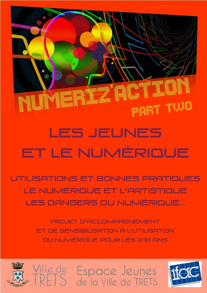 Affiche Numeriz action part two