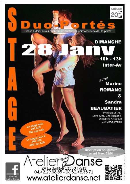 STAGE DUO PORTES 28.01.2018