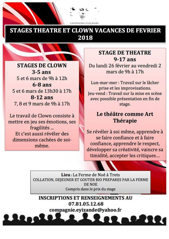 Compagnie Eyizande - Stages d'hiver