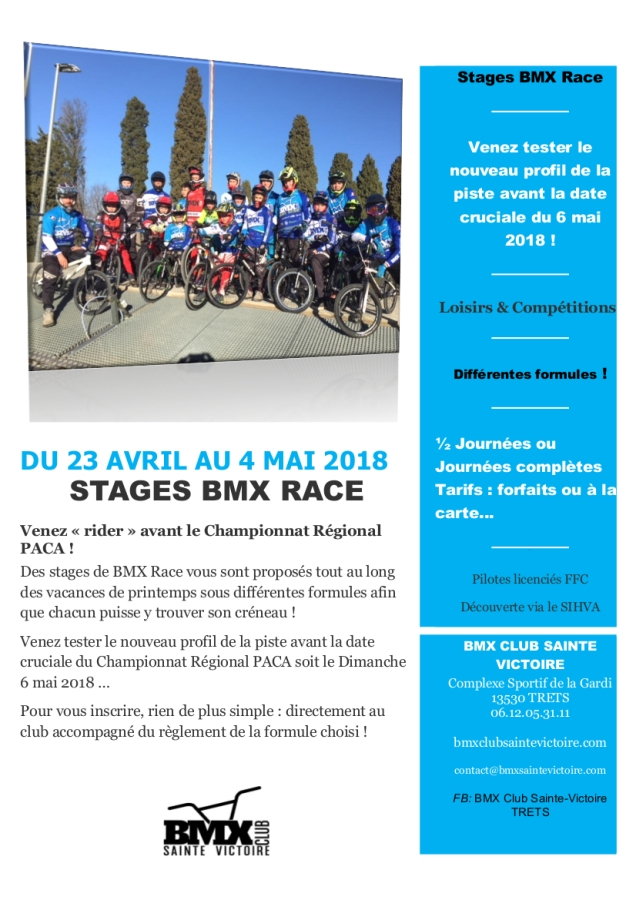 STAGES BMX AVRIL 2018.1