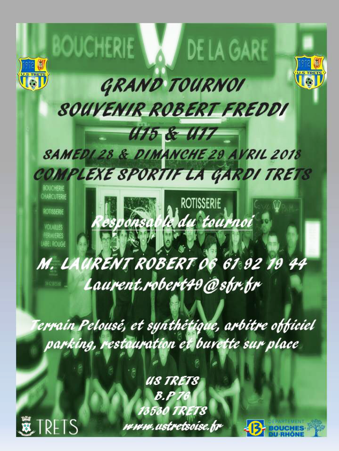 TOURNOI ROBERT FREDDI 2018