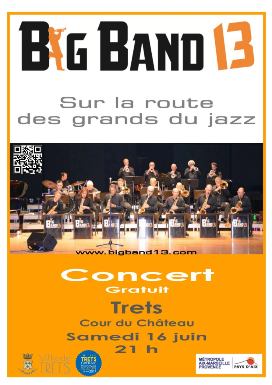 Affiche Big Band Jazz 2018