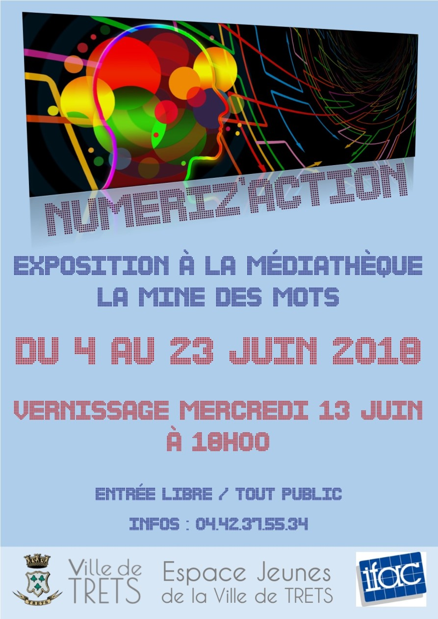 Affiche Numeriz action Expo w