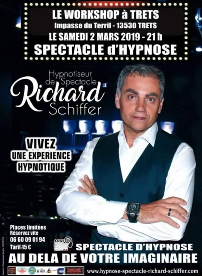 Le Workshop - Soirée spectacle d'hypnose avec Richard Schiffer